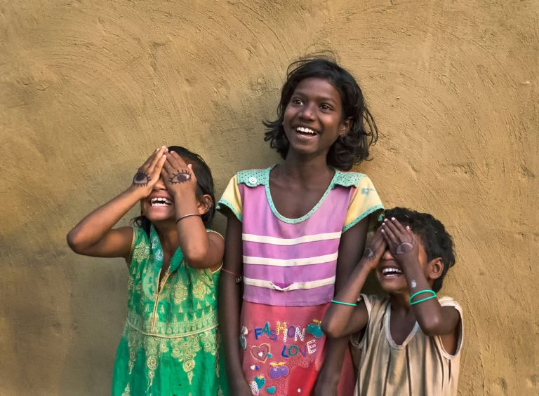 Adrita Dey, India - Smile Of Childhood Is Our Peace And Happiness