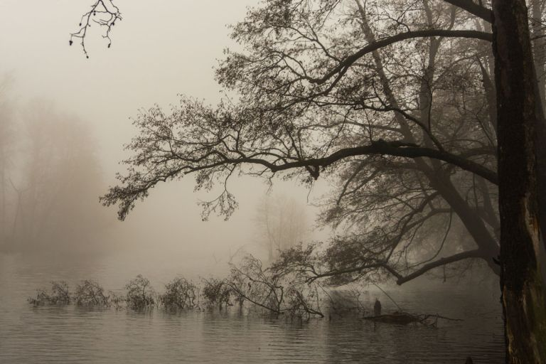 "Photo school MBOU DO ""Rodnik"", Russia, - Water - Foggy day"
